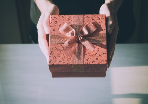 geschenk vrouw